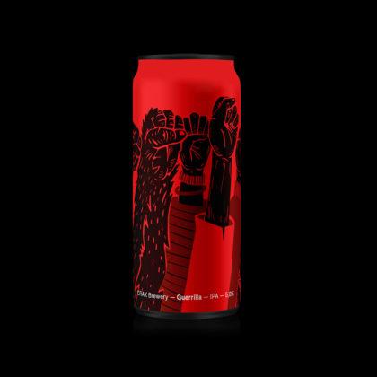 Guerrilla Ipa Crak Brewery