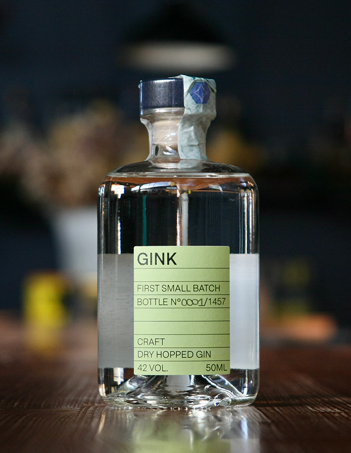 GINK 2 - Craft Dry Hopped Gin - CRAK + NANNONI