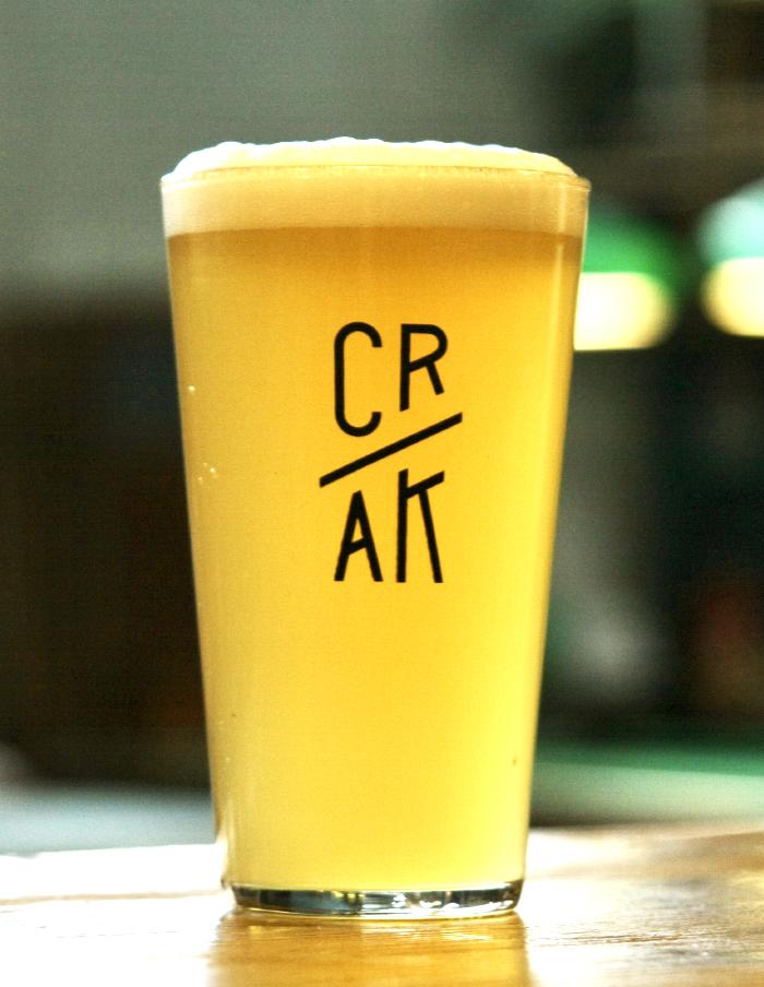 Bicchiere logo CRAK Pinta 400ml