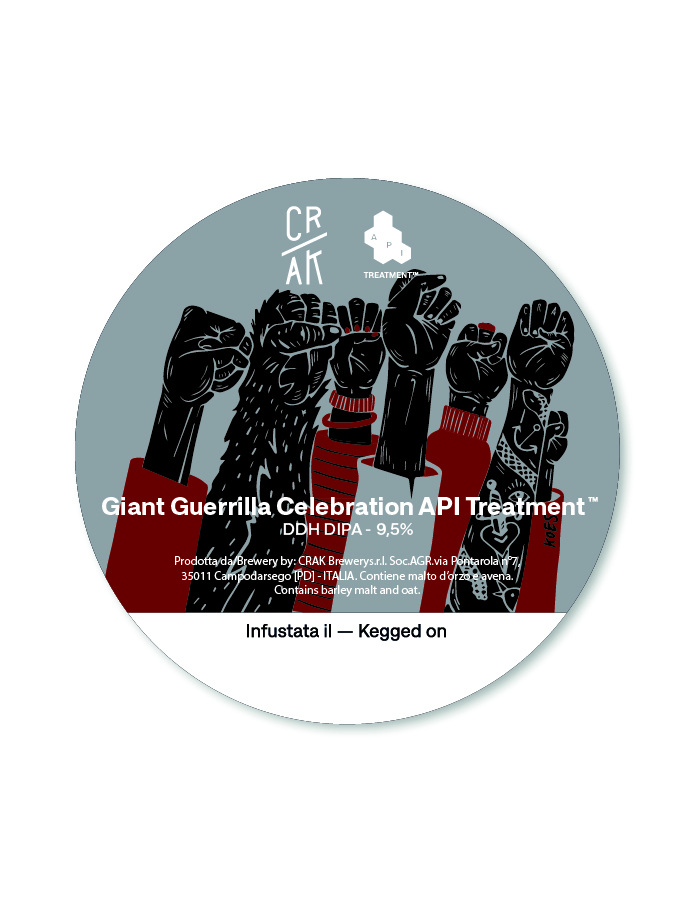 Giant Guerrilla Celebration API Treatment®